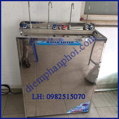 Máy lọc nước uống nóng lạnh 4 vòi cong