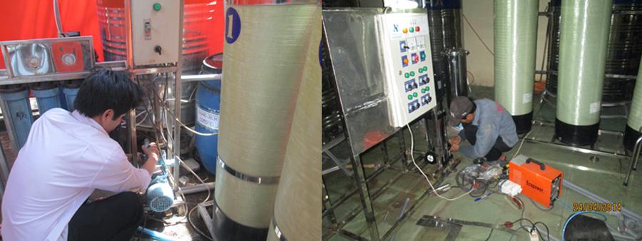 Bảo trì hệ thống xử lý nước