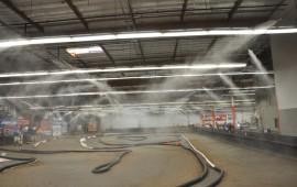 Hệ thống phun sương cho xưởng sản xuất