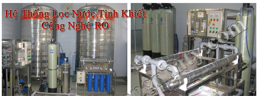 Xử lý nước bằng công nghệ RO