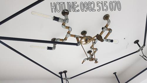 đèn trần ống nước 1