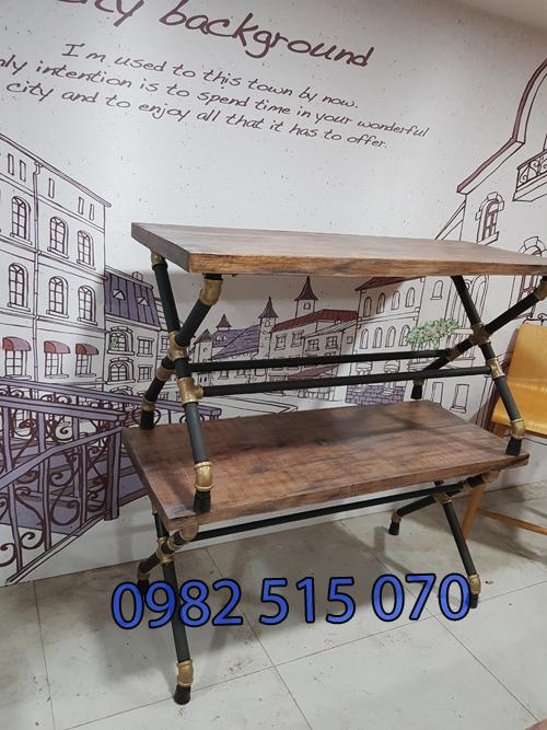 ghế ống nước quán cà phê 122