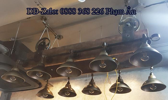 đèn decor ống nước độc lạ 4