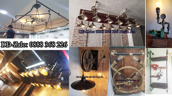 đèn decor ống nước độc lạ 44