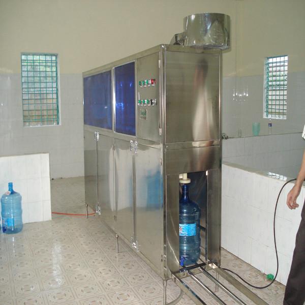 Máy rửa chiết rót đóng nắp bình 5 Gallon