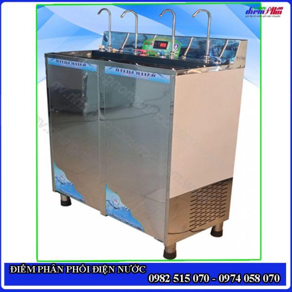 Máy lọc nước uống nóng lạnh trực tiếp 6 vòi